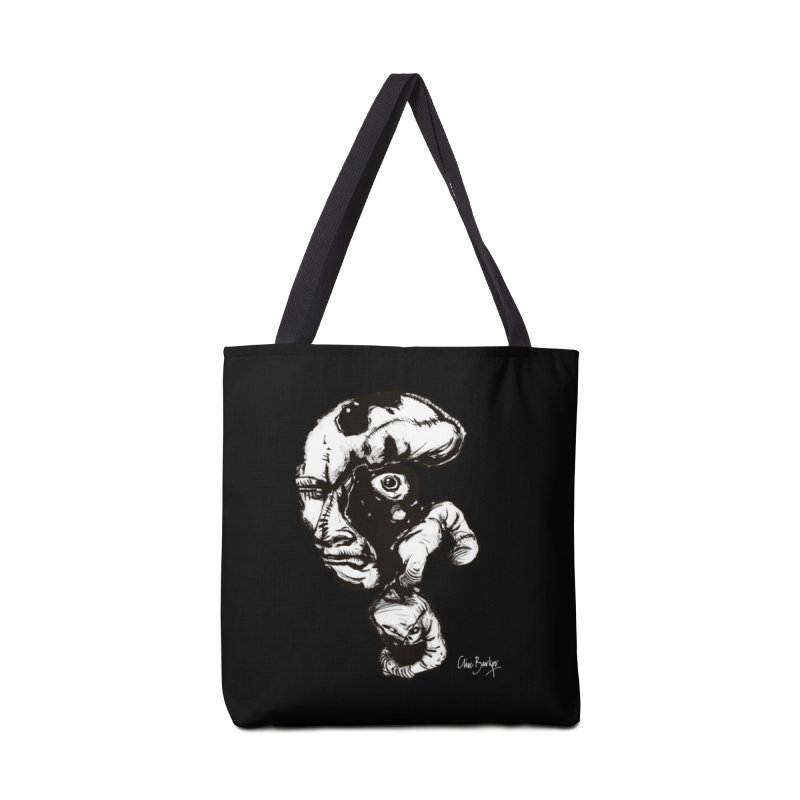 Head with Floating Eye Accessories Bag by Clive Barker