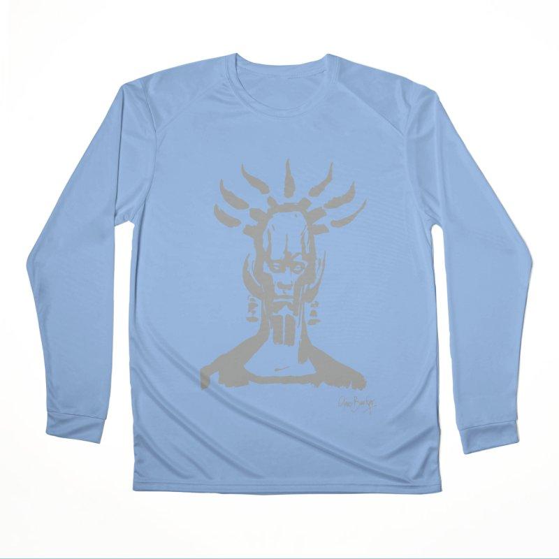 Untitled Shaman (smoke) Women's Longsleeve T-Shirt by Clive Barker