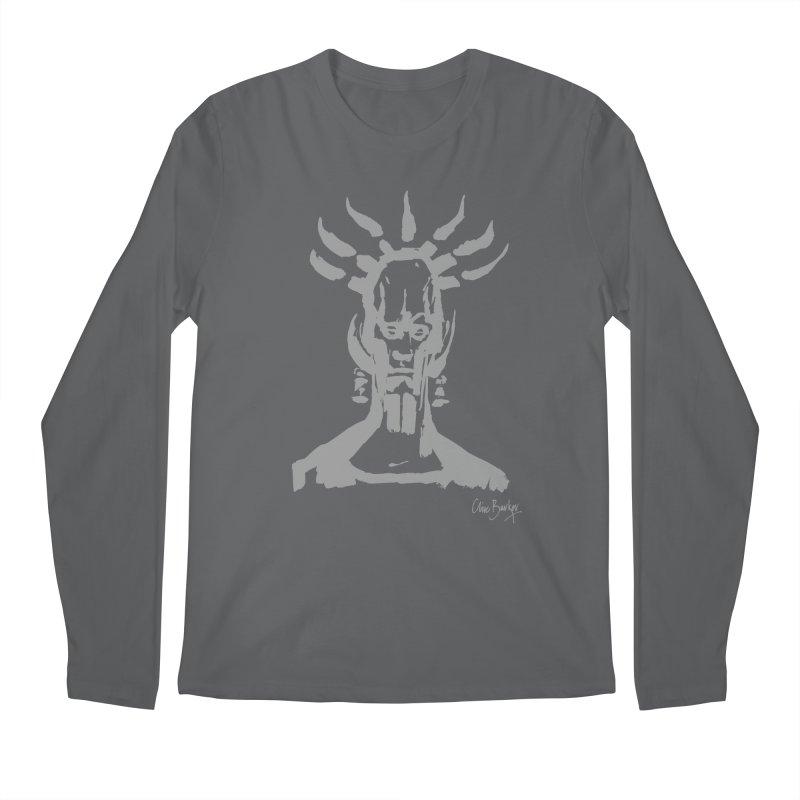 Untitled Shaman (smoke) Men's Longsleeve T-Shirt by Clive Barker