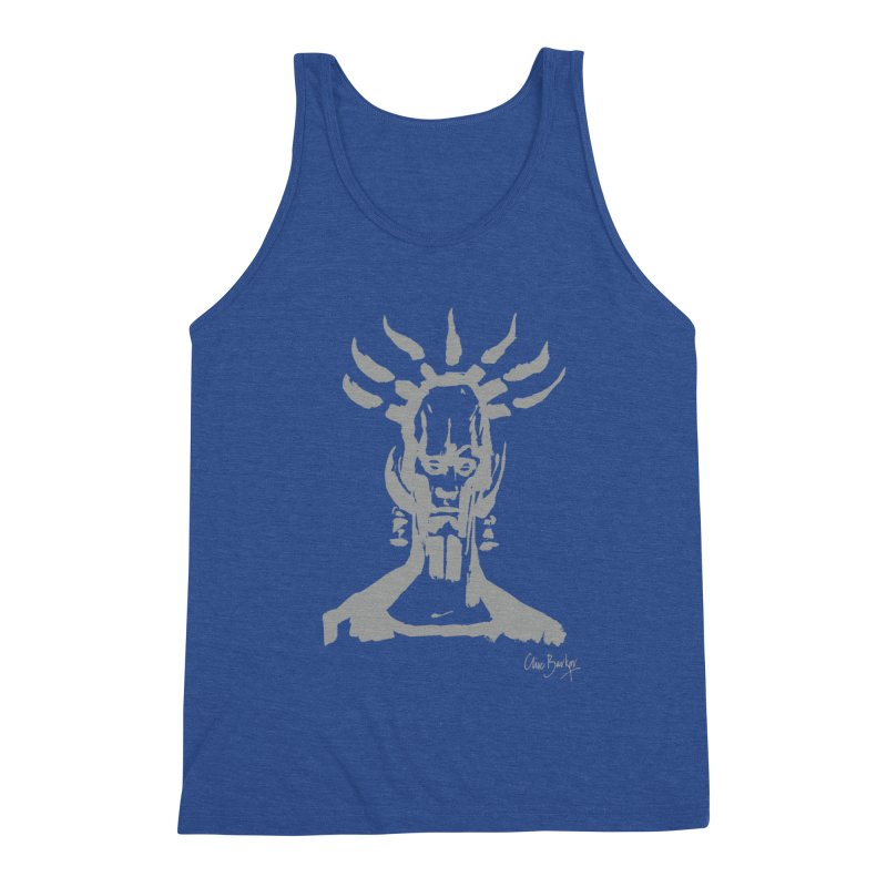 Untitled Shaman (smoke) Men's Tank by Clive Barker