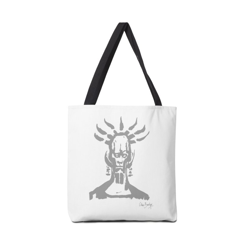Untitled Shaman (smoke) Accessories Bag by Clive Barker