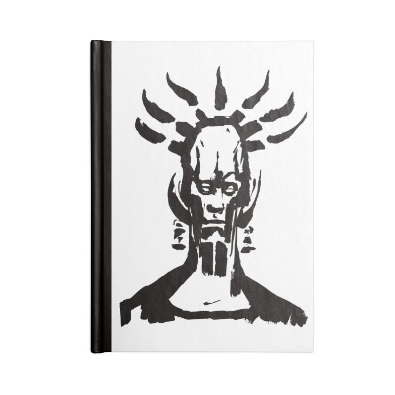 Untitled Shaman Accessories Notebook by Clive Barker