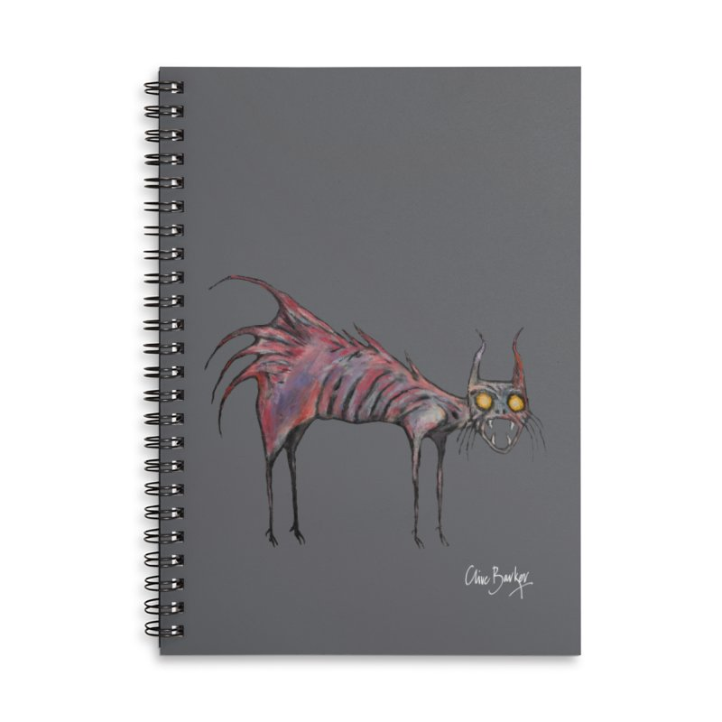 Screaming Cat Accessories Notebook by Clive Barker