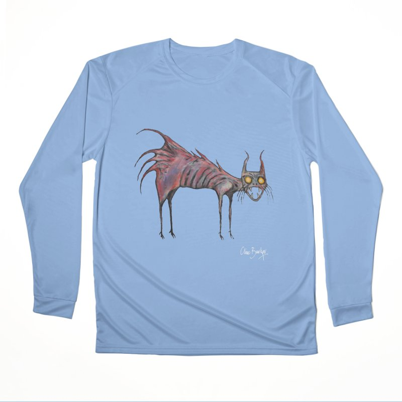 Screaming Cat Men's Longsleeve T-Shirt by Clive Barker