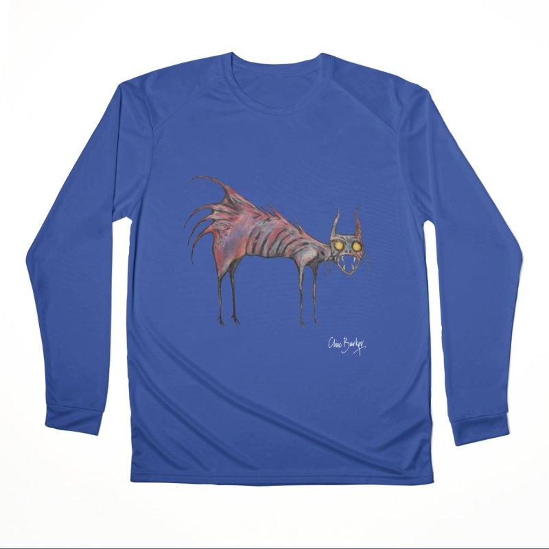 Screaming Cat Women's Longsleeve T-Shirt by Clive Barker
