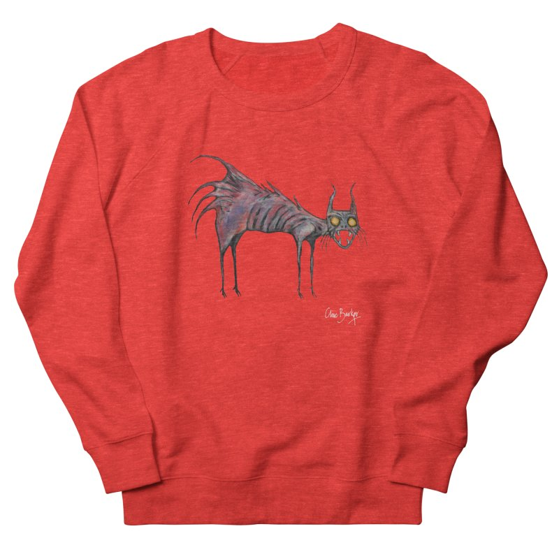 Screaming Cat Women's Sweatshirt by Clive Barker