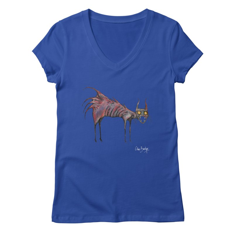 Screaming Cat Women's V-Neck by Clive Barker