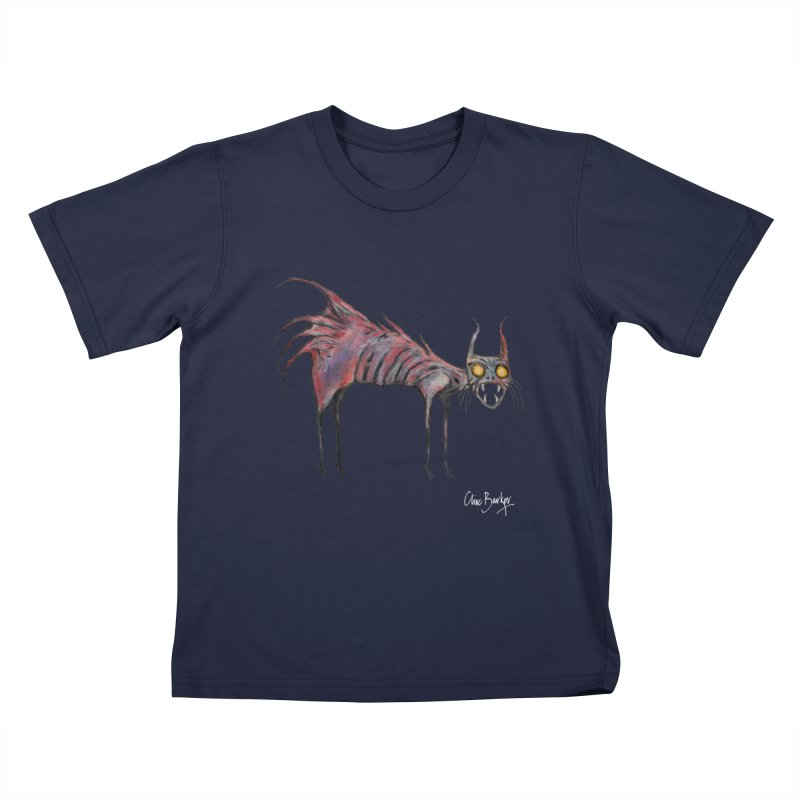 Screaming Cat Kids T-Shirt by Clive Barker