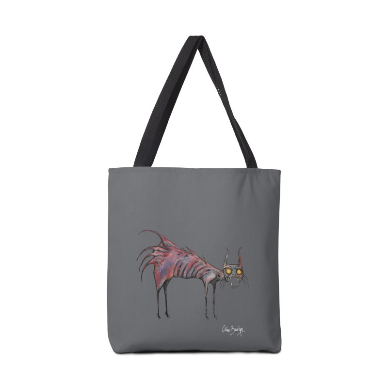 Screaming Cat Accessories Bag by Clive Barker