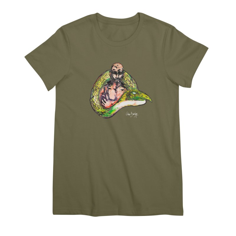 Dragon Charmer Women's T-Shirt by Clive Barker