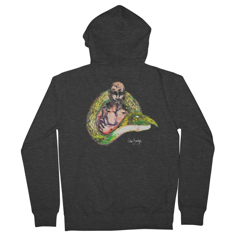 Dragon Charmer Men's Zip-Up Hoody by Clive Barker