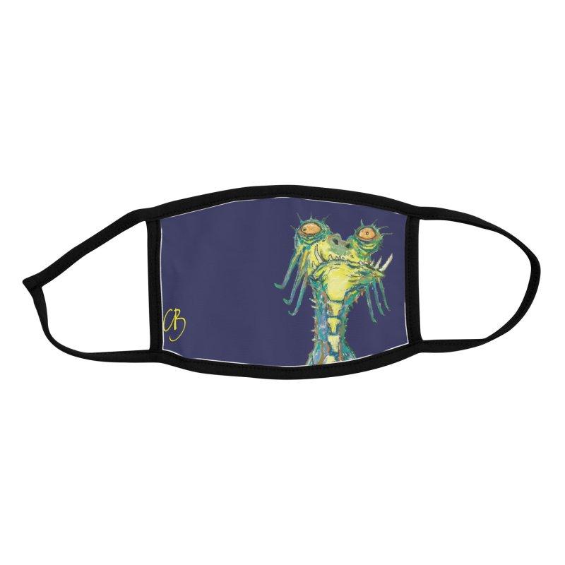 A Zethek Accessories Face Mask by Clive Barker