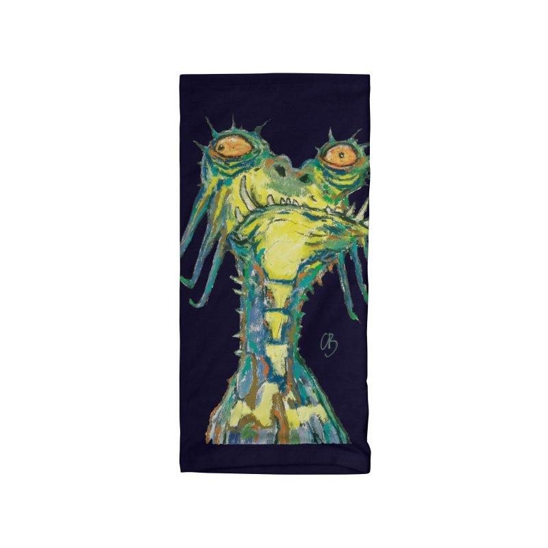 A Zethek Accessories Neck Gaiter by Clive Barker