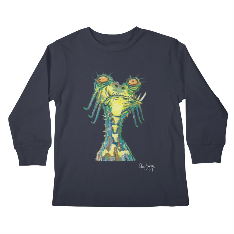 A Zethek Kids Longsleeve T-Shirt by Clive Barker