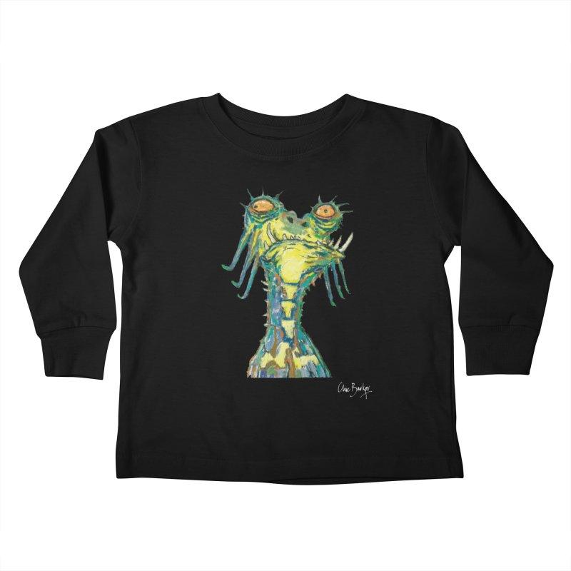 A Zethek Kids Toddler Longsleeve T-Shirt by Clive Barker