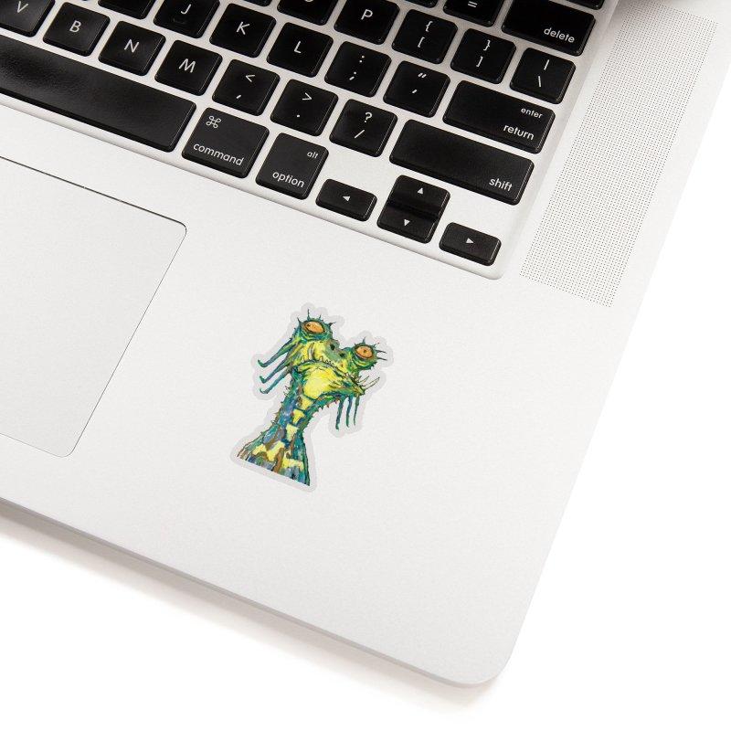 A Zethek Accessories Sticker by Clive Barker