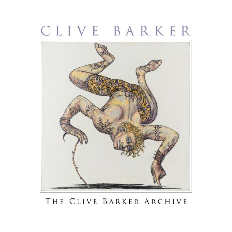 Tattooed Yellow Acrobat Art Prints Fine Art Print by Clive Barker