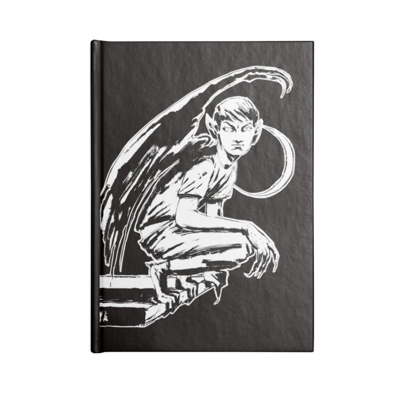 Harvey Swick (outlined) Accessories Notebook by Clive Barker