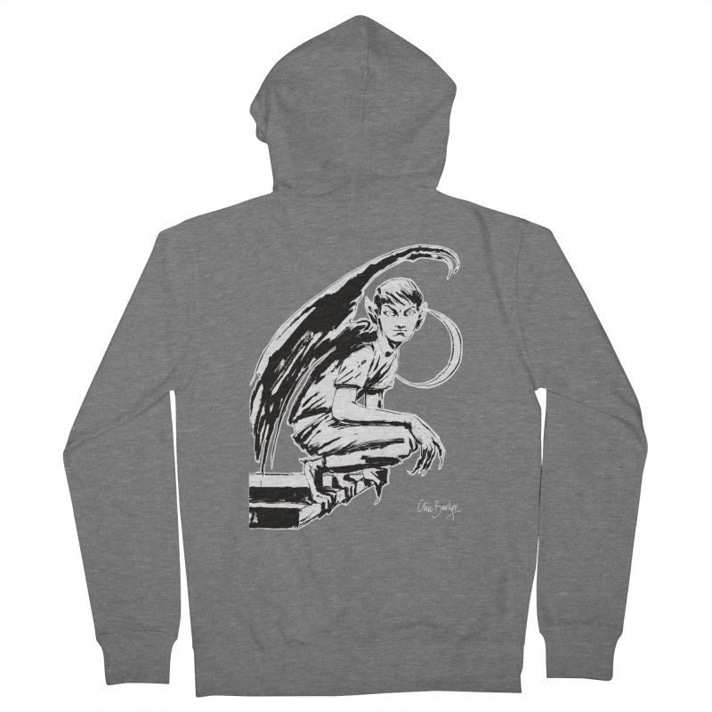 Harvey Swick (outlined) Women's Zip-Up Hoody by Clive Barker
