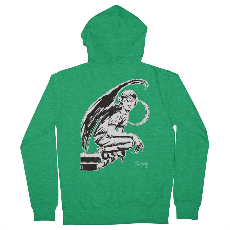 Harvey Swick (outlined) Men's Zip-Up Hoody by Clive Barker