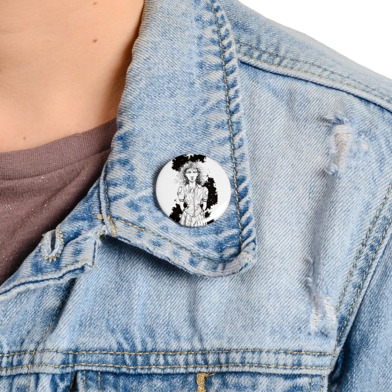 Lulu Accessories Button by Clive Barker