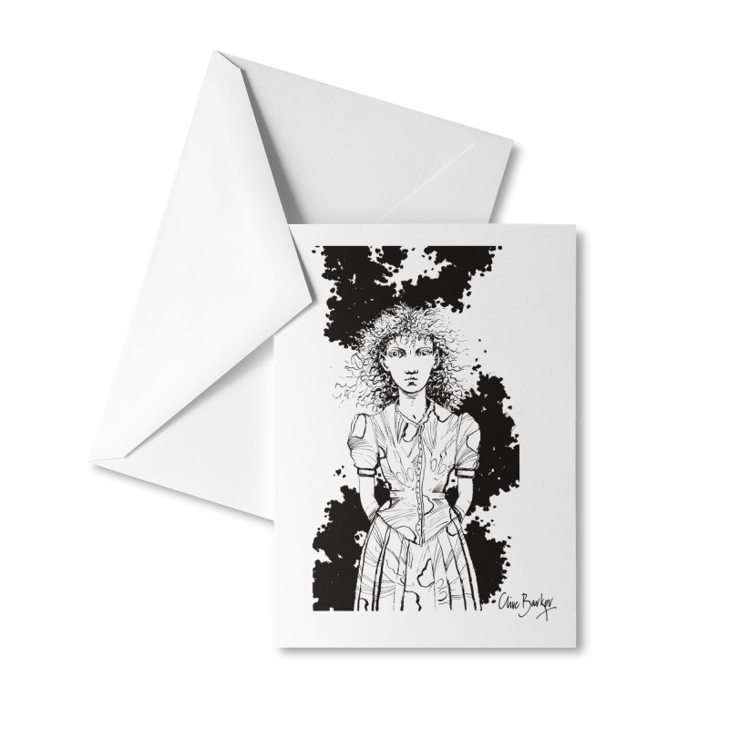 Lulu Accessories Greeting Card by Clive Barker
