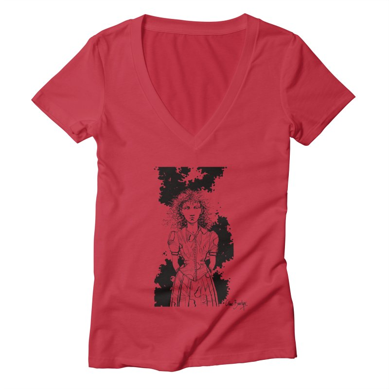 Lulu Women's V-Neck by Clive Barker
