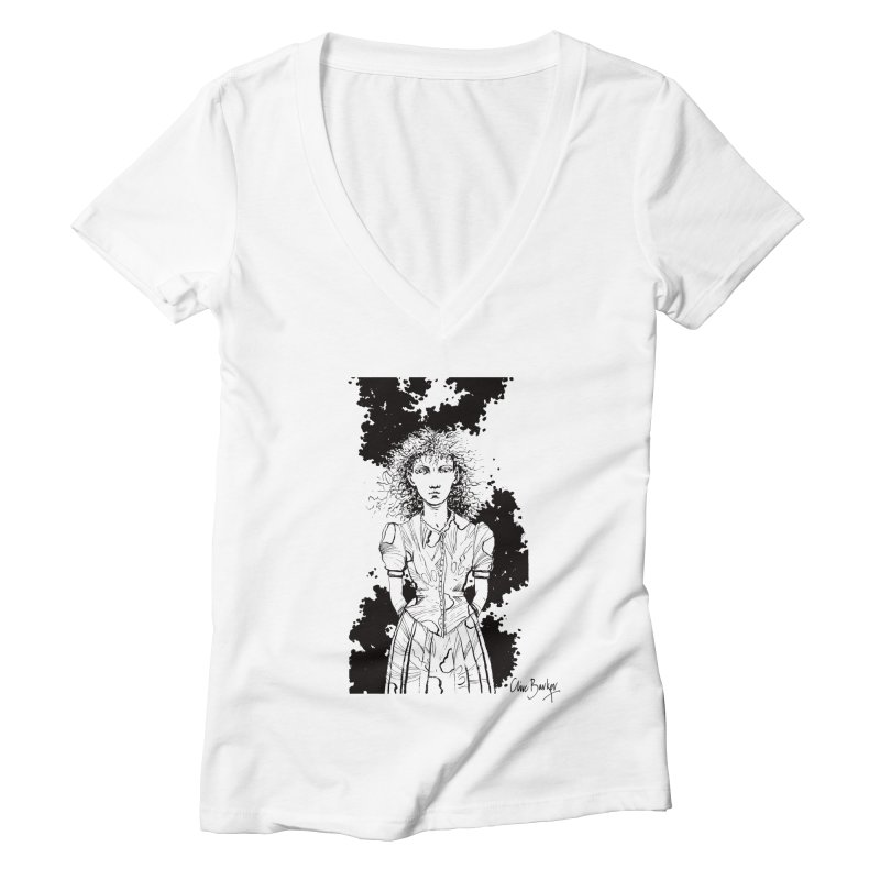 Lulu Women's V-Neck by Clive Barker