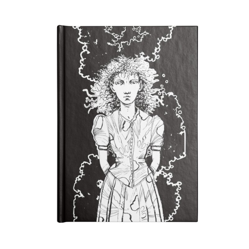 Lulu (outlined) Accessories Notebook by Clive Barker