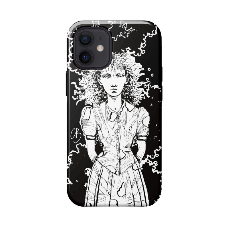 Lulu (outlined) Accessories Phone Case by Clive Barker