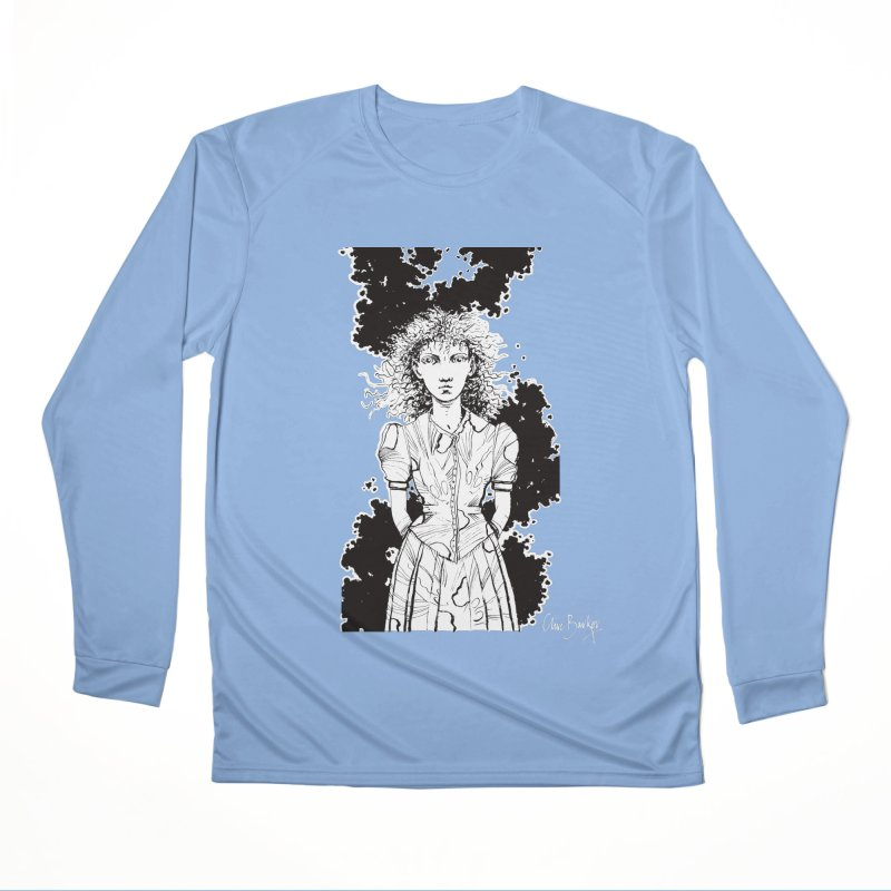 Lulu (outlined) Women's Longsleeve T-Shirt by Clive Barker
