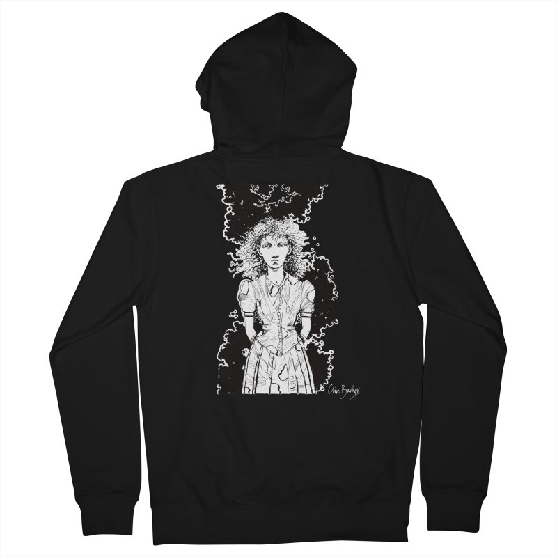 Lulu (outlined) Women's Zip-Up Hoody by Clive Barker