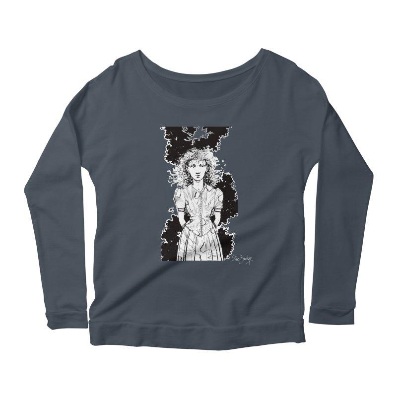 Lulu (outlined) Women's Longsleeve T-Shirt by Clive Barker