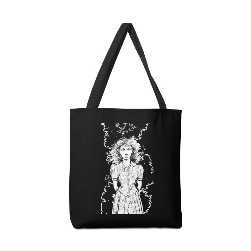 Lulu (outlined) Accessories Bag by Clive Barker