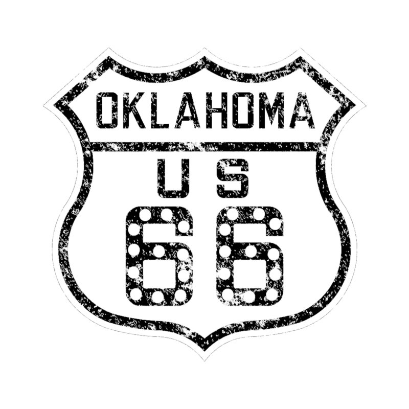 Oklahoma 66 Faded Men's T-Shirt by Cloudless Lens