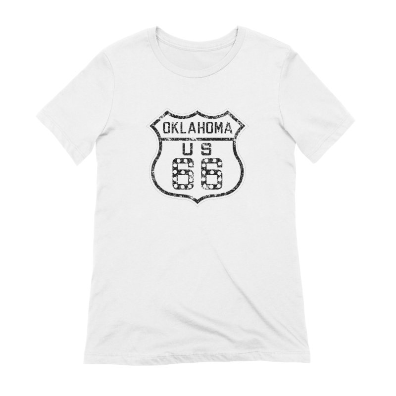 Oklahoma 66 Faded Women's T-Shirt by Cloudless Lens