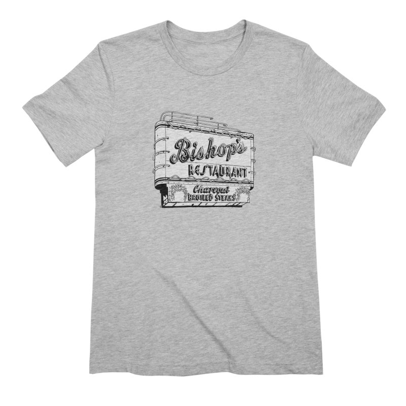 Bishop's Sign Men's Extra Soft T-Shirt by Cloudless Lens