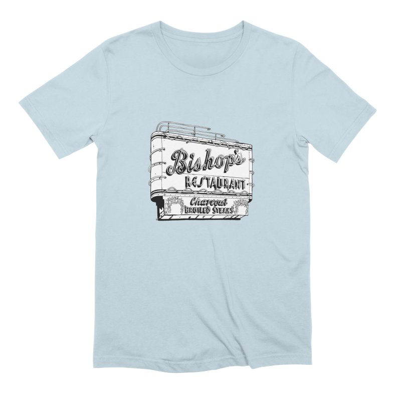 Bishop's Sign Men's T-Shirt by Cloudless Lens