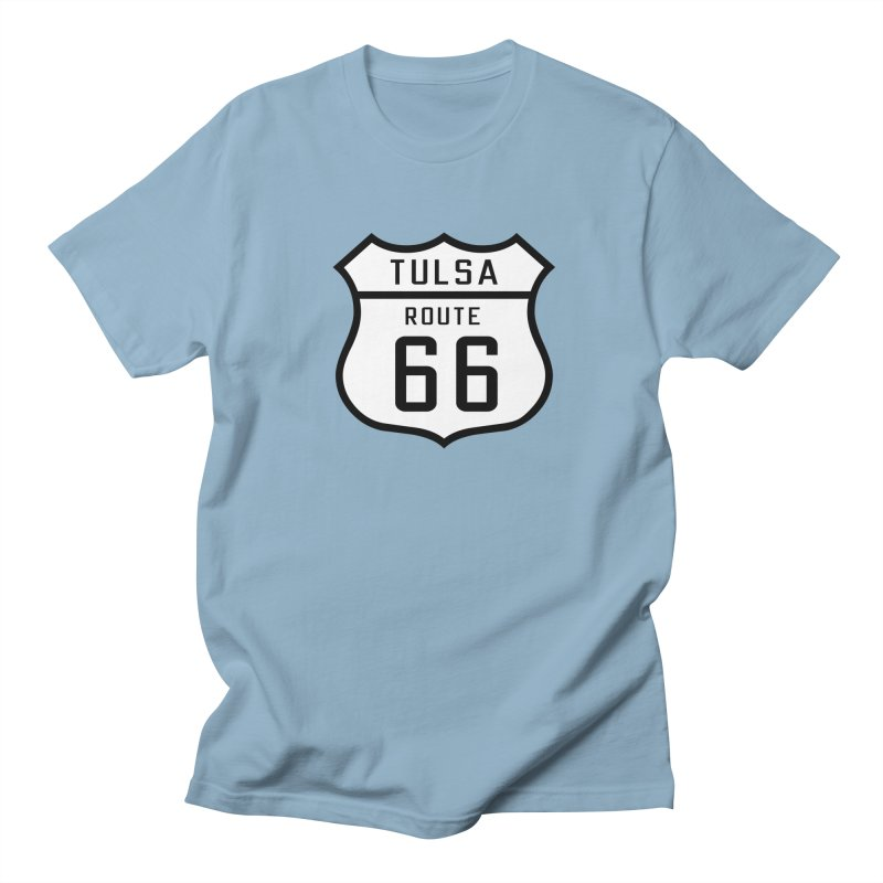Tulsa 66 Men's Regular T-Shirt by Cloudless Lens