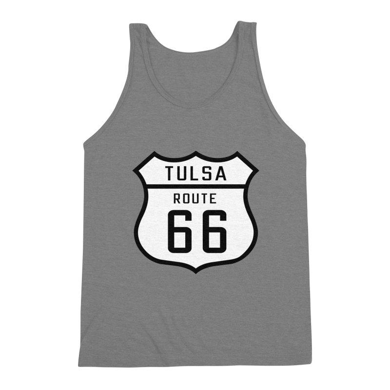 Tulsa 66 Men's Triblend Tank by Cloudless Lens