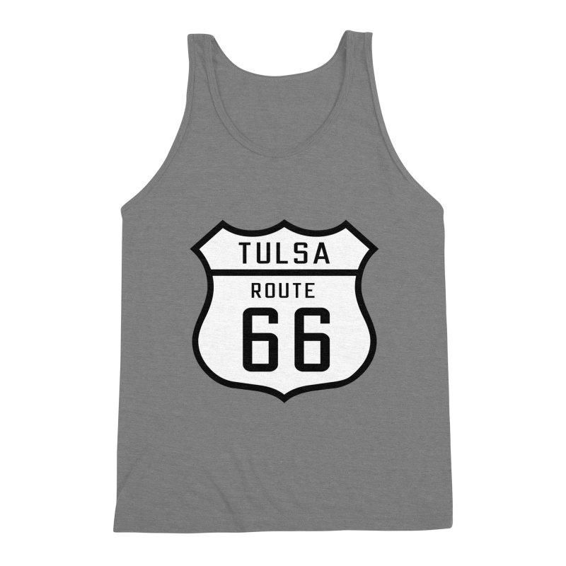 Tulsa 66 Men's Triblend Tank by Cloudless Lens