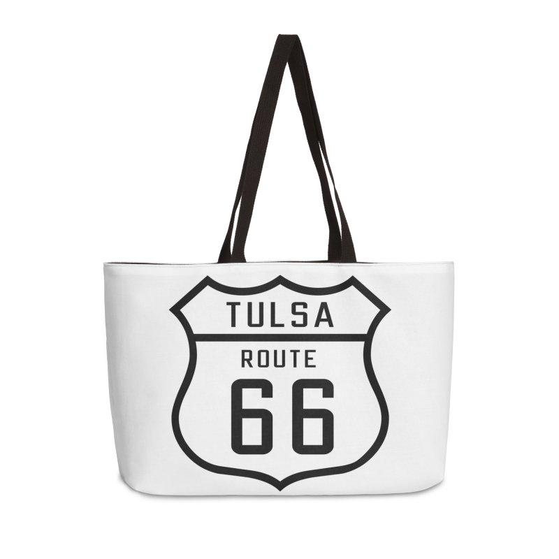 Tulsa 66 in Weekender Bag by Cloudless Lens