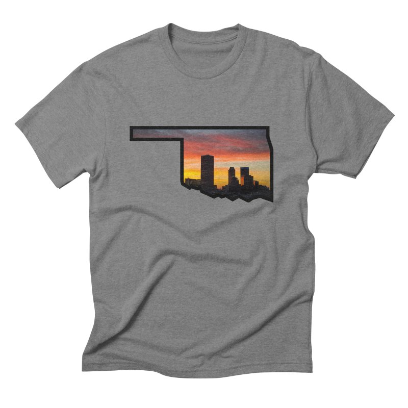 OK Tulsa Men's T-Shirt by Cloudless Lens