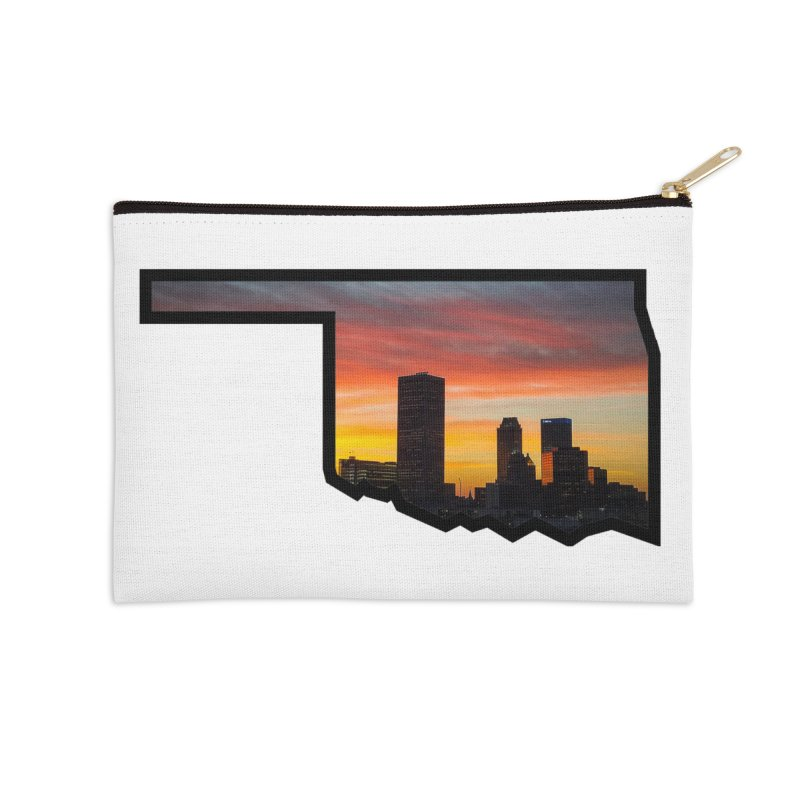 OK Tulsa Accessories Zip Pouch by Cloudless Lens