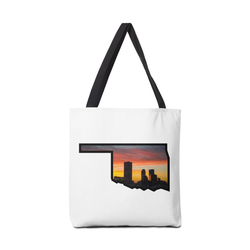 OK Tulsa Accessories Tote Bag Bag by Cloudless Lens
