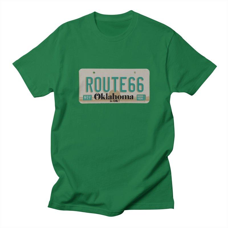 OK 66 Plate Men's Regular T-Shirt by Cloudless Lens