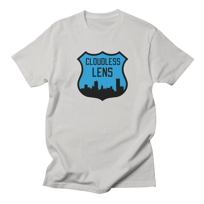 Cloudless Lens Logo Men's T-Shirt by Cloudless Lens
