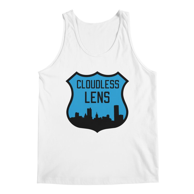 Cloudless Lens Logo Men's Regular Tank by Cloudless Lens