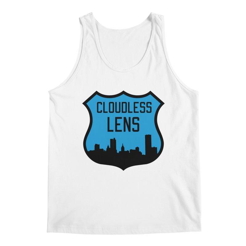 Cloudless Lens Logo Men's Regular Tank by Cloudless Lens