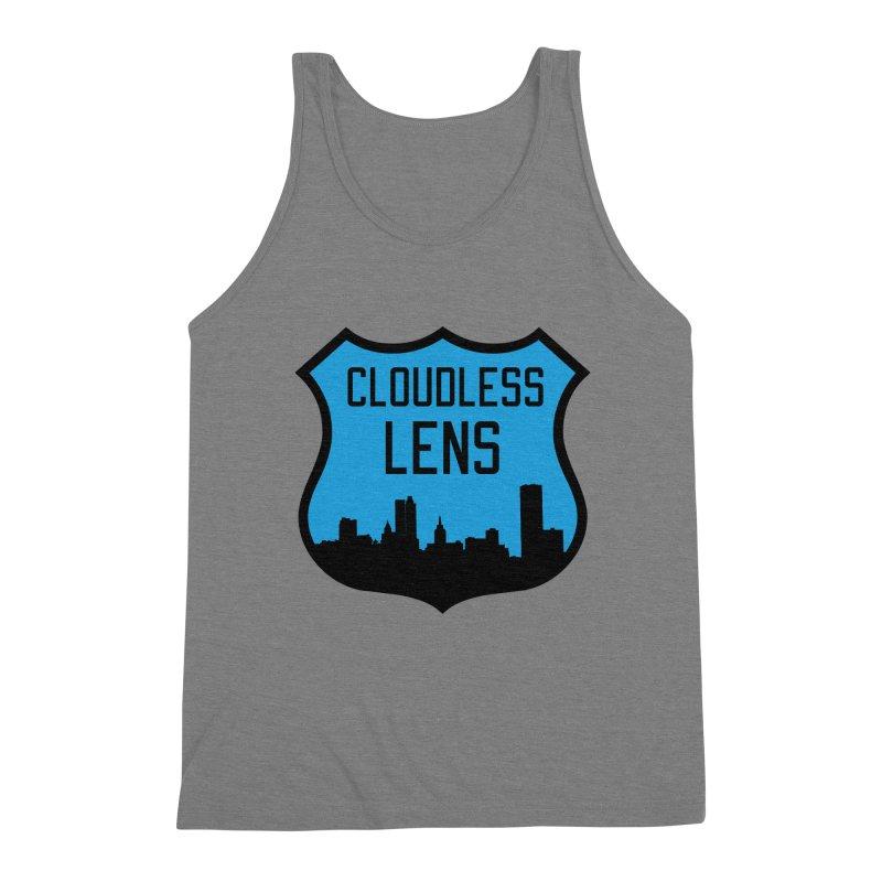 Cloudless Lens Logo Men's Triblend Tank by Cloudless Lens
